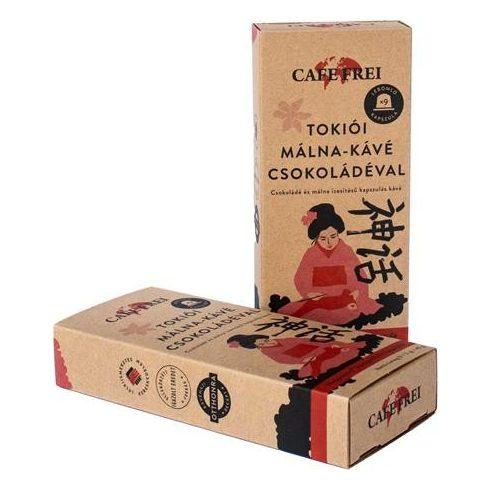 """Cafe Frei """"Tokiói csokoládés-málna"""" kávékapszula, 9 db"""