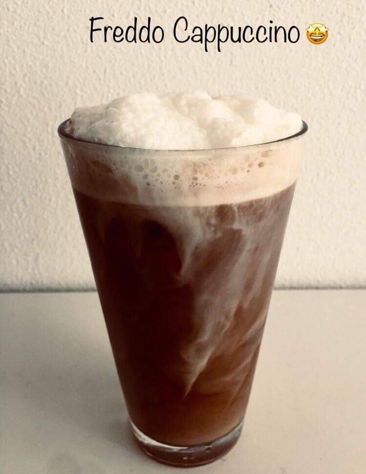 Freddo Cappuccino jegeskávé