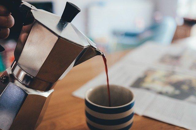 kotyogós kávéfőzés